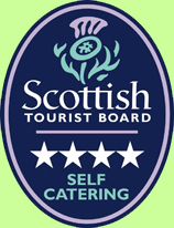 The cottage is certified as a 4 star self catering cottage.