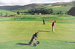 Golfing in the Borders